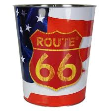 Corbeille route 66